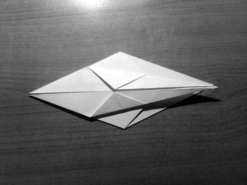 Simple Origami Dragon Step 04