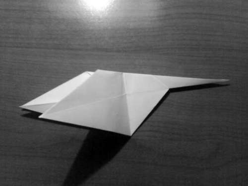 Simple Origami Dragon Step 13