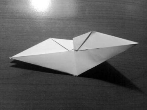 Simple Origami Dragon Step 14