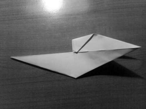 Simple Origami Dragon Step 15