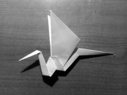 Simple Origami Dragon Step 28